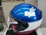 ヘルメットをオリジナルペイント